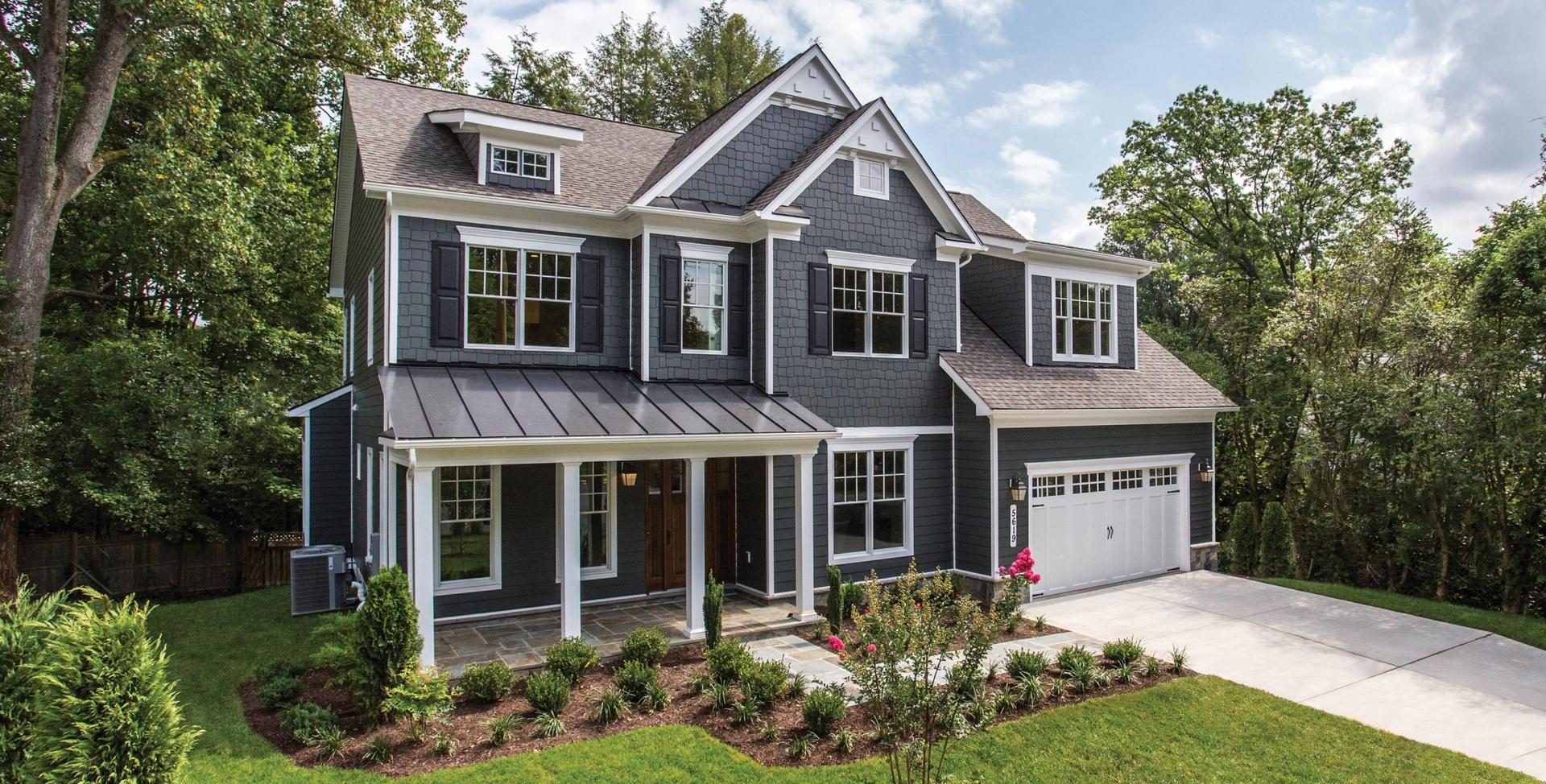 New Home Inspiration   Exteriors   Mid-Atlantic Custom